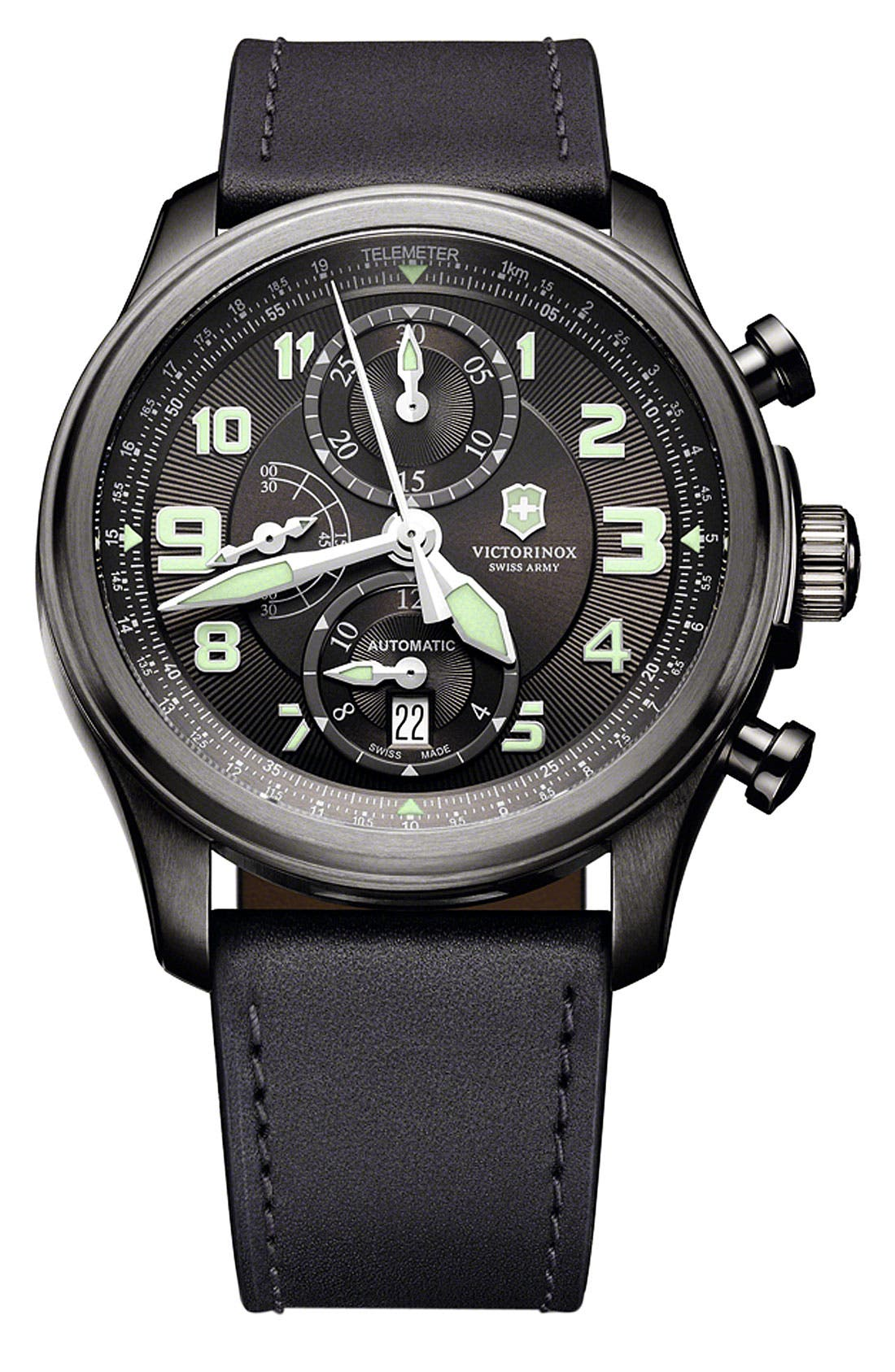 Alternate Image 1 Selected - Victorinox Swiss Army® 'Infantry Vintage' Automatic Chronograph Watch