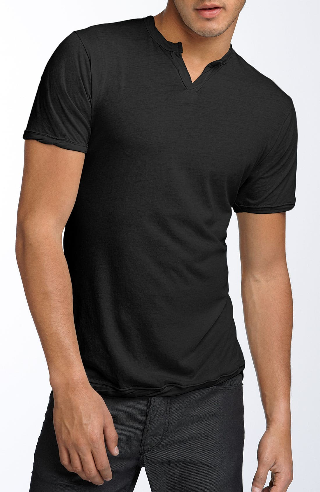 Alternate Image 1 Selected - Alternative 'Moroccan' Trim Fit Henley