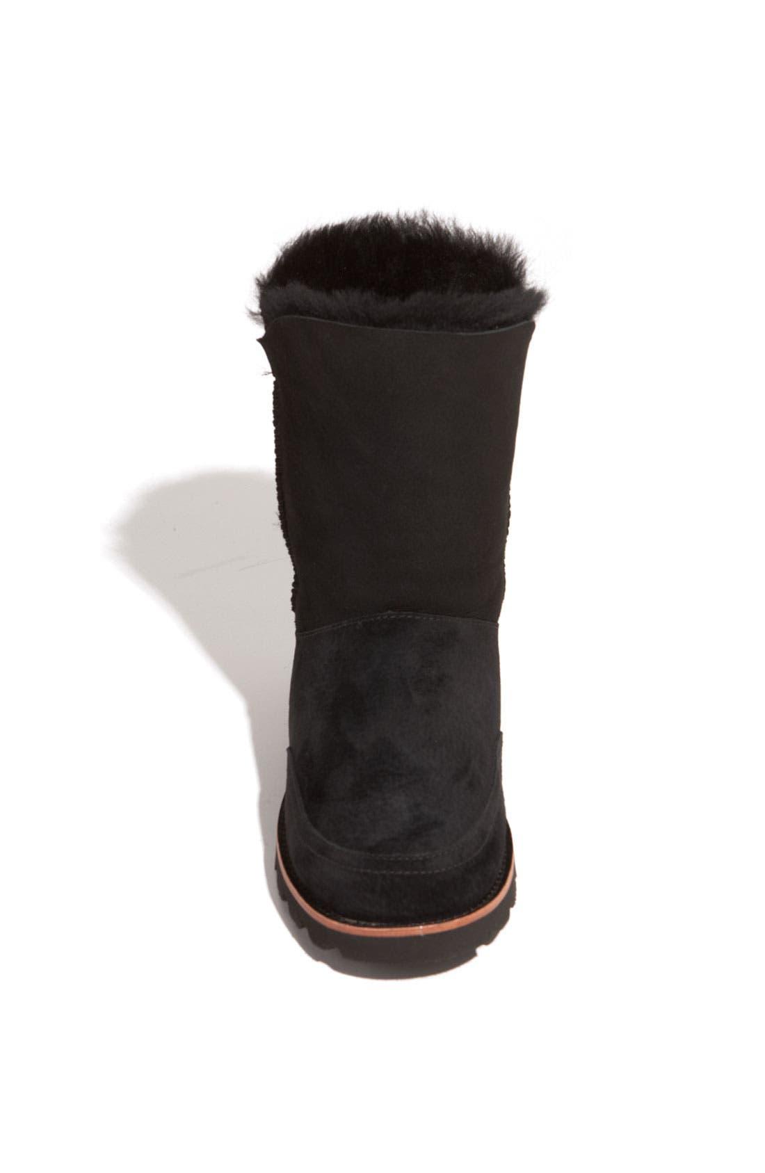 Australia 'Shanleigh' Boot,                             Alternate thumbnail 3, color,                             Black