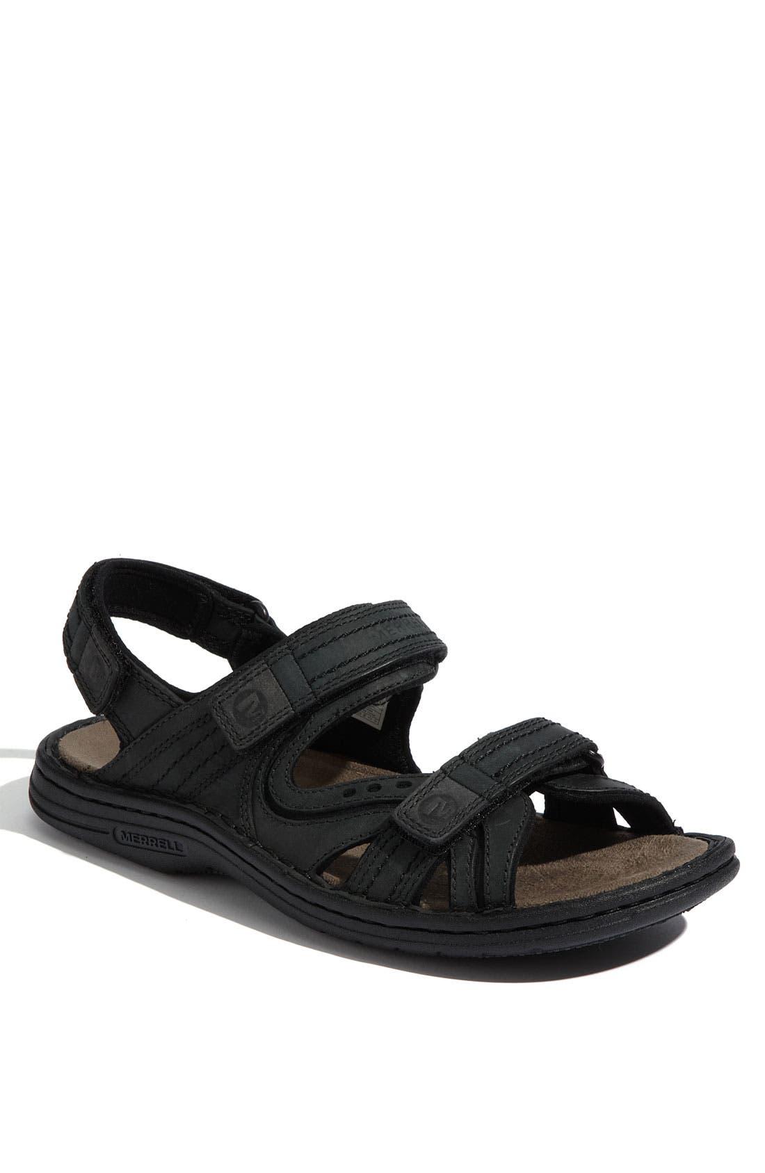 Alternate Image 1 Selected - Merrell 'World Impulse' Sandal (Men)