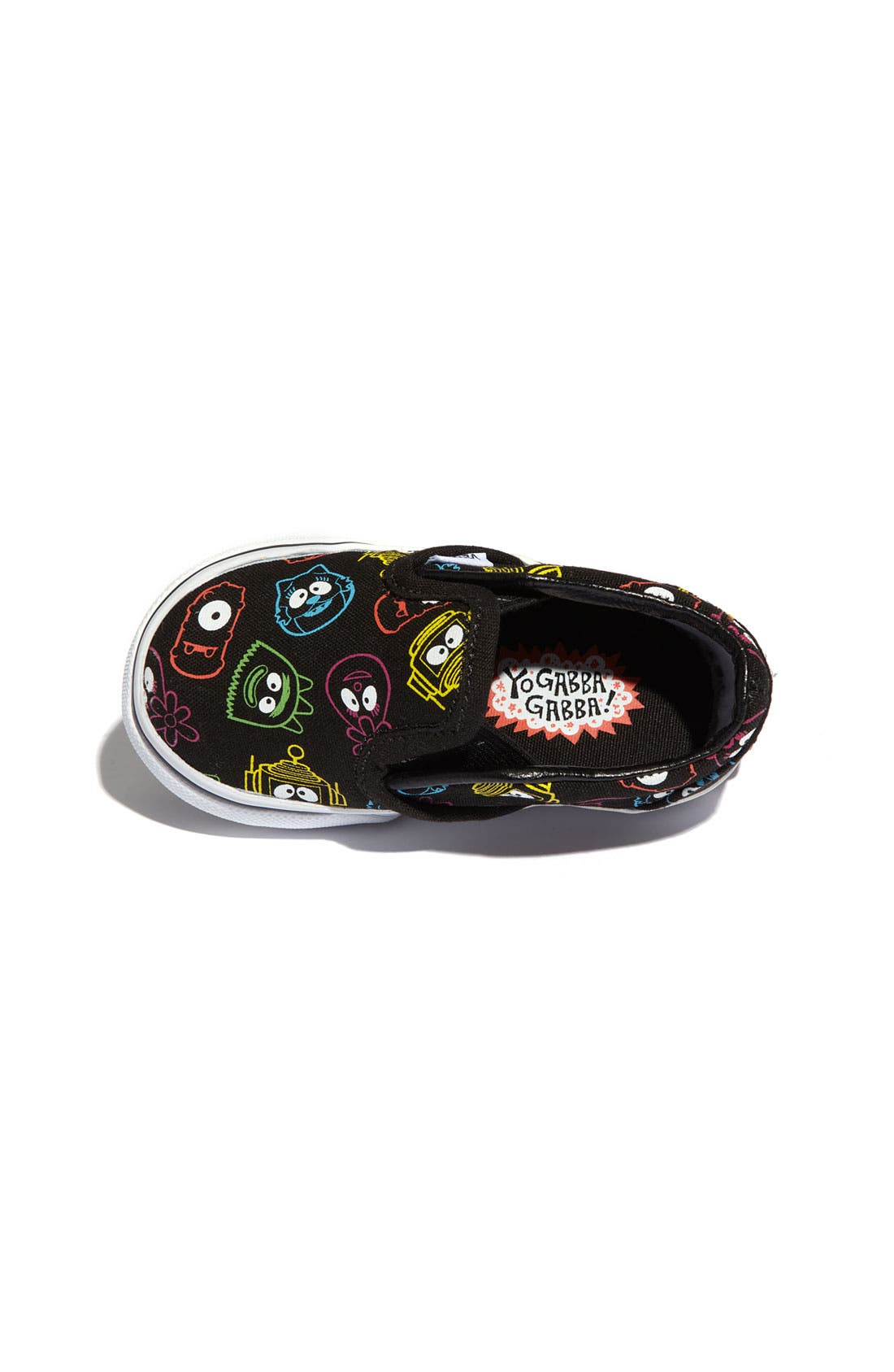 Alternate Image 3  - Vans 'Yo Gabba Gabba!™' Slip-On (Walker & Toddler)