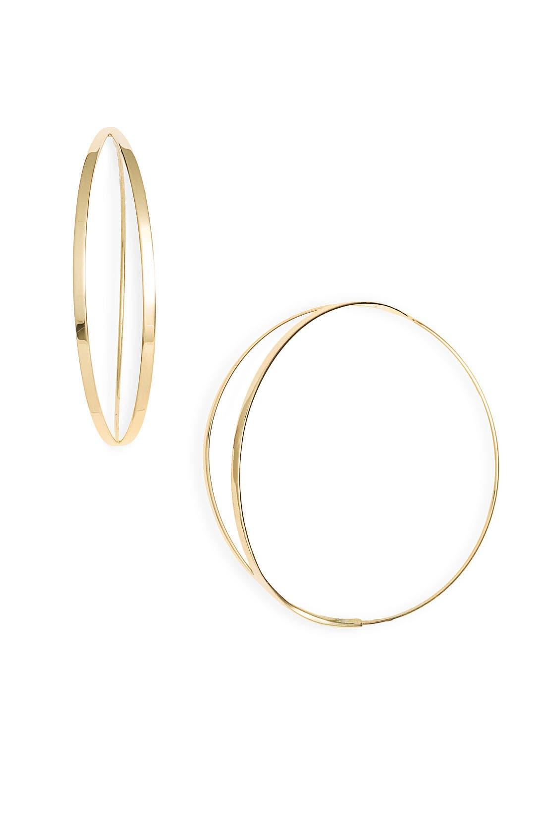 Alternate Image 1 Selected - Lana Jewelry 'Small Flirt' Hoop Earrings