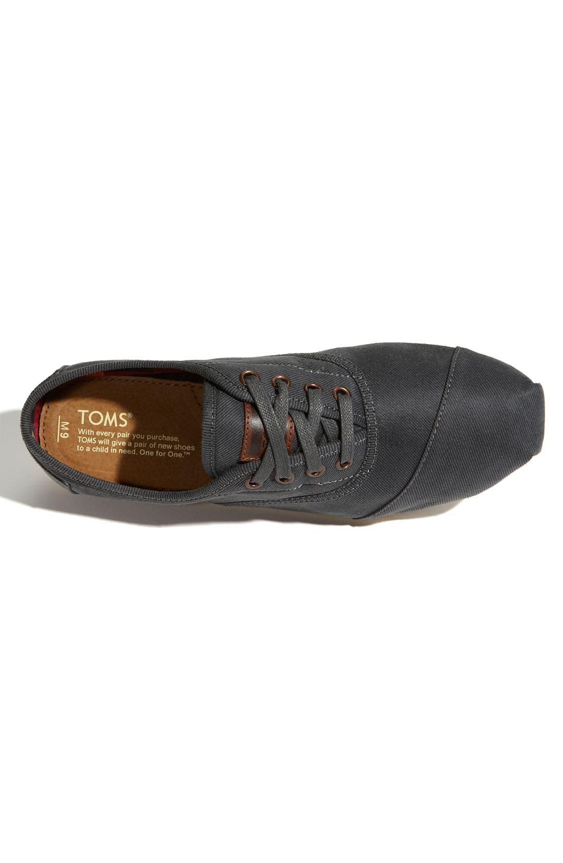 Alternate Image 3  - TOMS 'Cordones' Waxed Canvas Sneaker (Men)