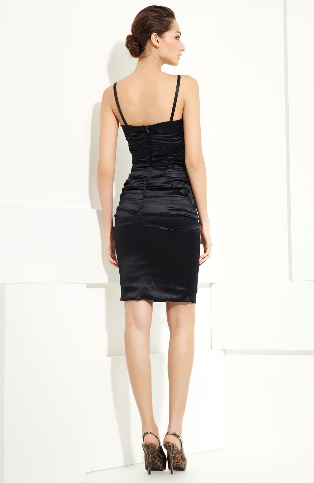 Alternate Image 2  - Dolce&Gabbana Stretch Satin Dress