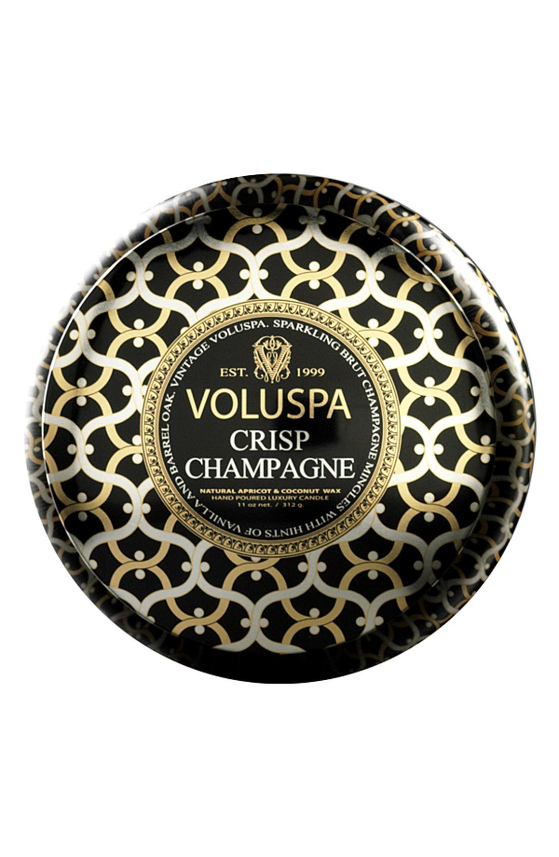 Alternate Image 1 Selected - Voluspa 'Maison Noir - Crisp Champagne' Two-Wick Candle