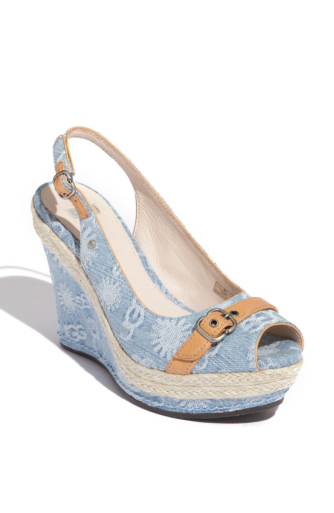 Alternate Image 1 Selected - UGG® Australia 'Noella' Sandal