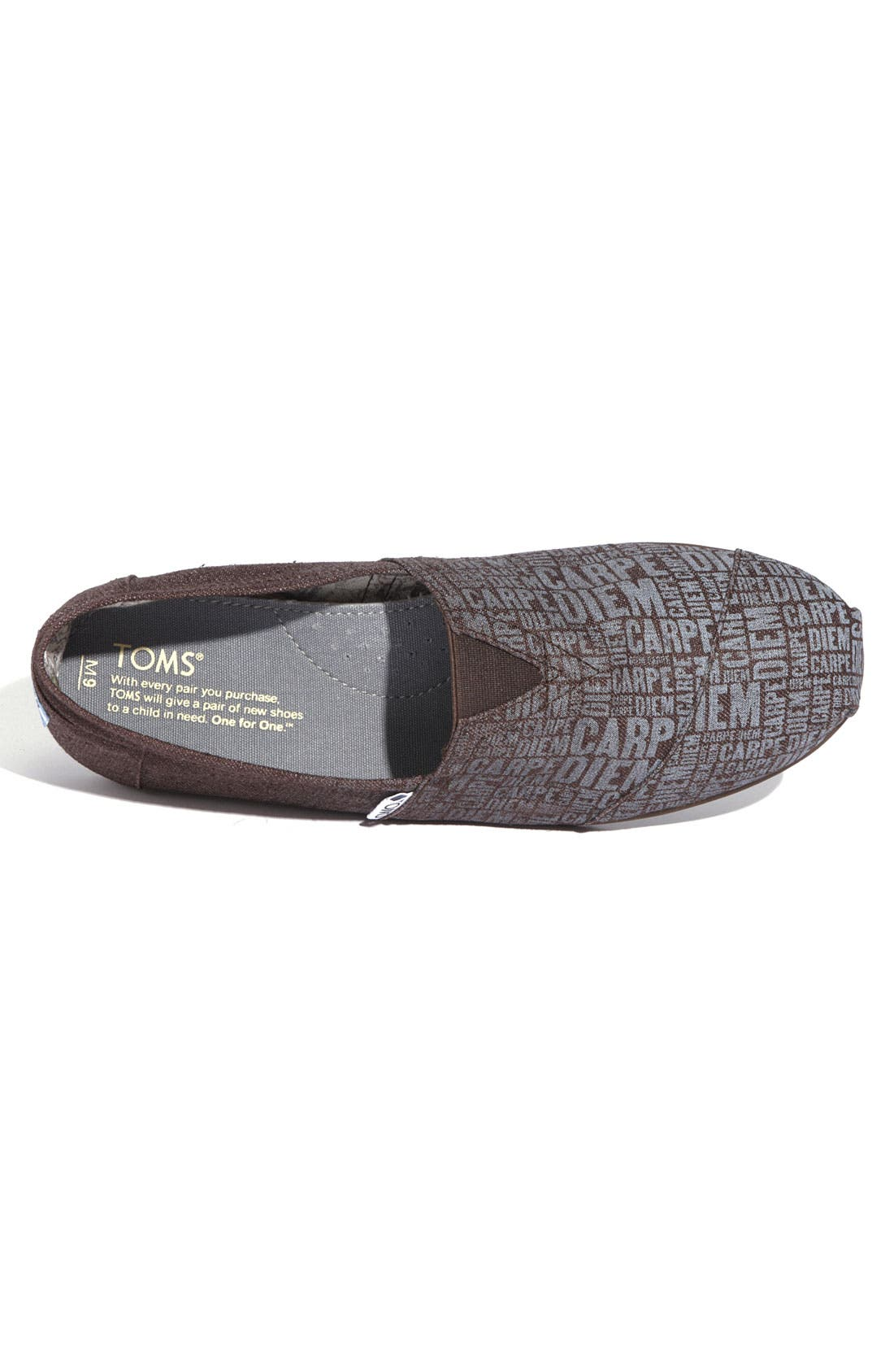 Alternate Image 2  - TOMS 'Classic - Print' Canvas Slip-On (Men)