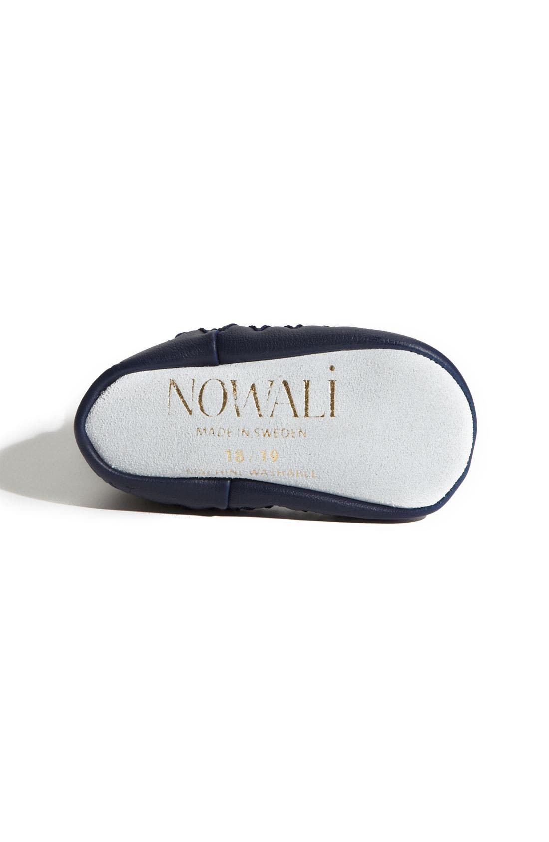 Alternate Image 4  - Nowali Cable Knit Moccasins (Baby & Walker)