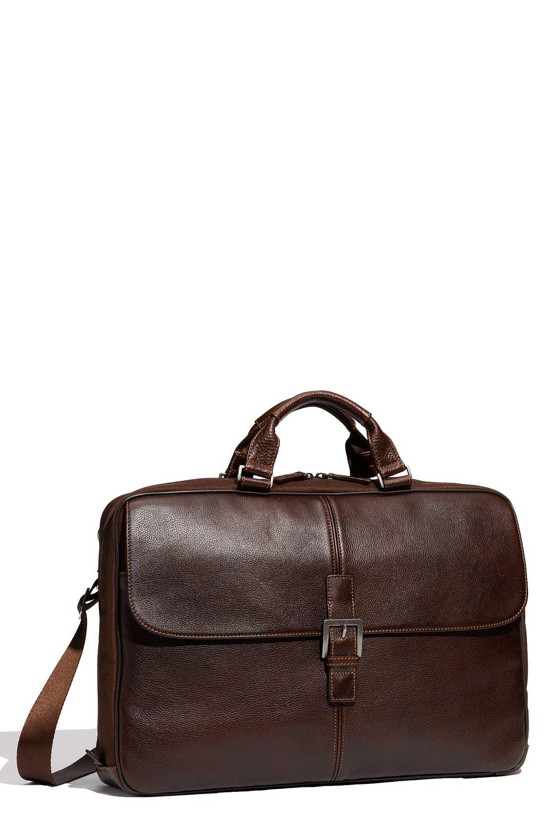 Main Image - Boconi 'Tyler - Dispatche' Tumbled Leather Briefcase