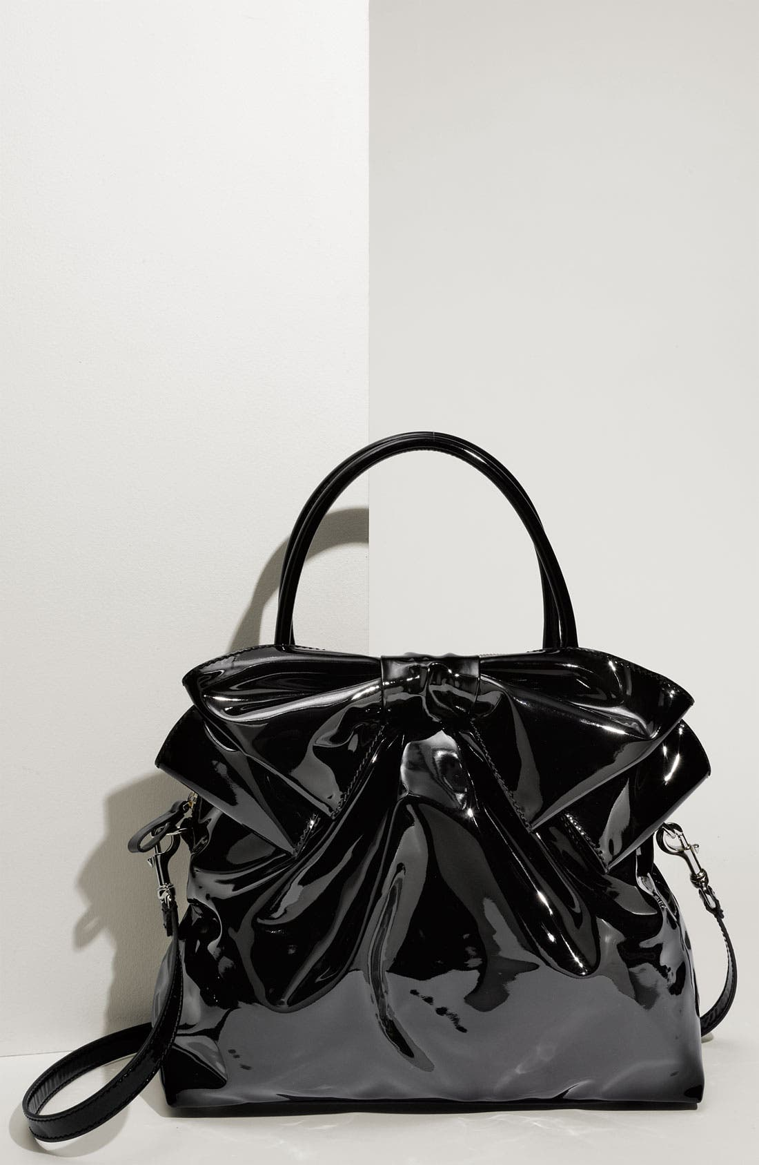 Alternate Image 1 Selected - Valentino 'Lacca Bow' Dome Handbag