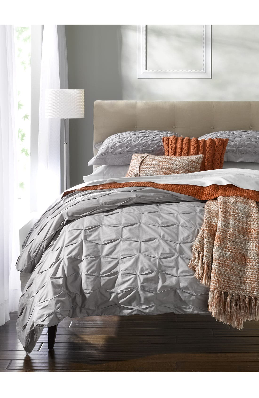 Alternate Image 4  - Nordstrom at Home 'Box Pleat' Duvet Cover