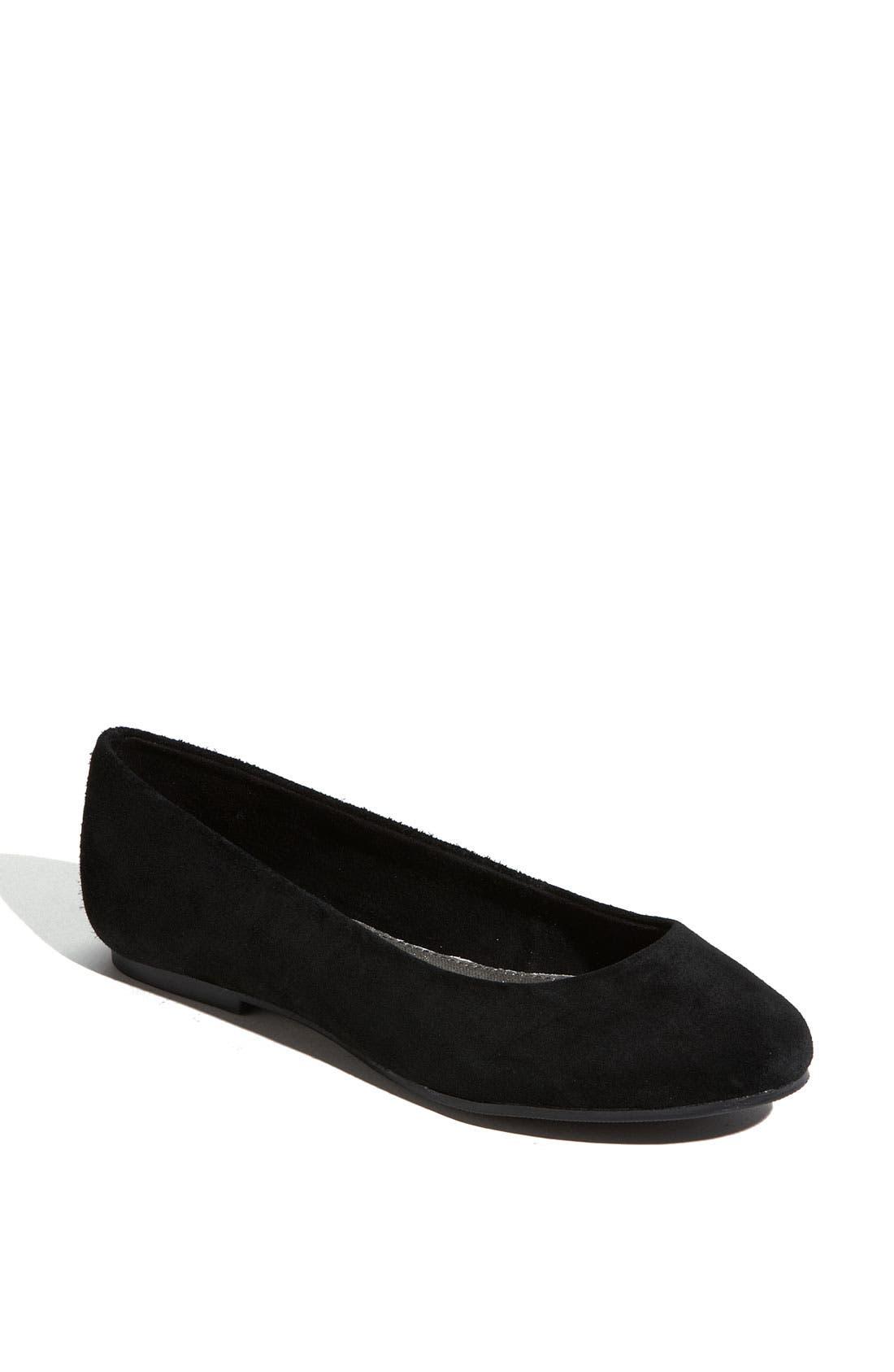 Alternate Image 1 Selected - BC Footwear 'Limousine' Suede Flat