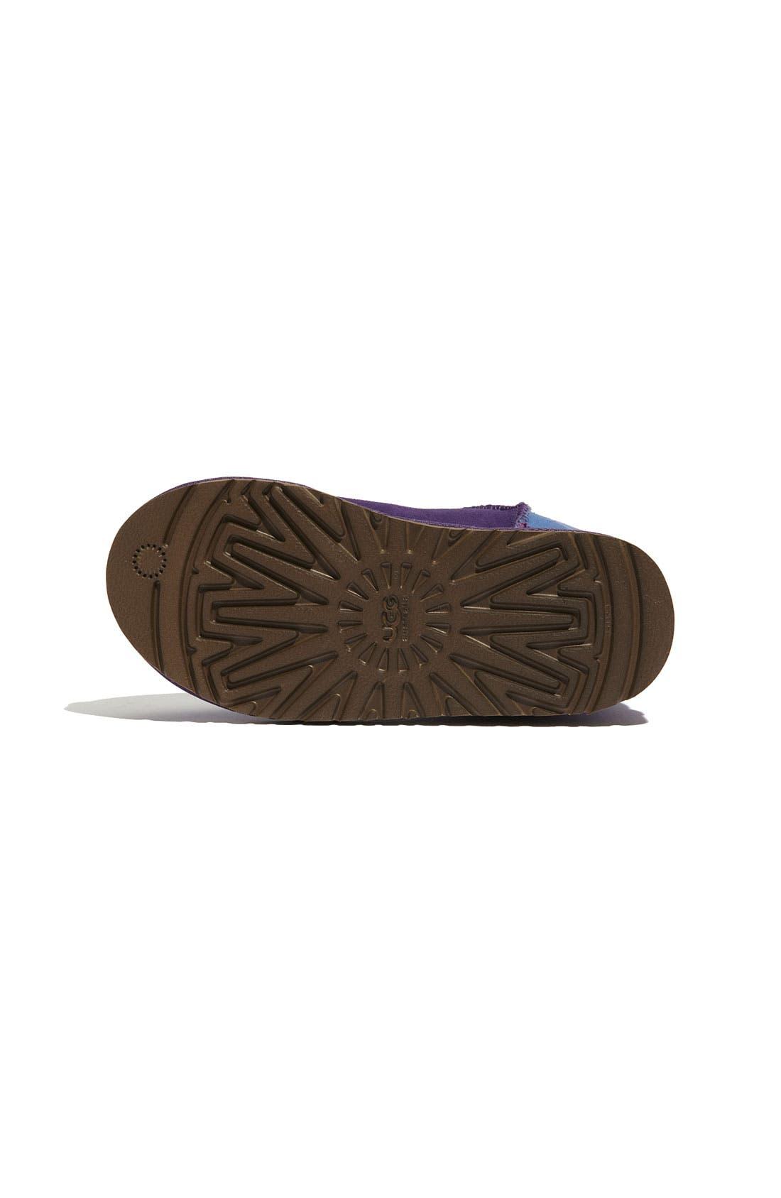 Alternate Image 4  - UGG® 'Classic Short - Patchwork' Boot (Walker)
