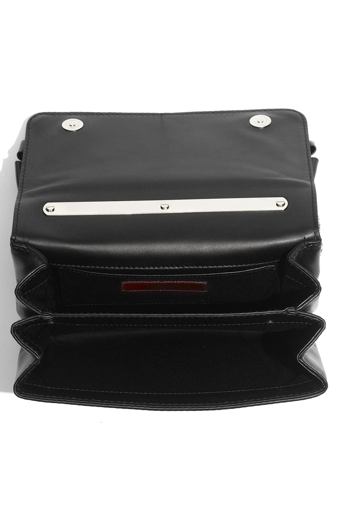 Alternate Image 3  - Valentino 'Bow Flap' Leather Shoulder Bag