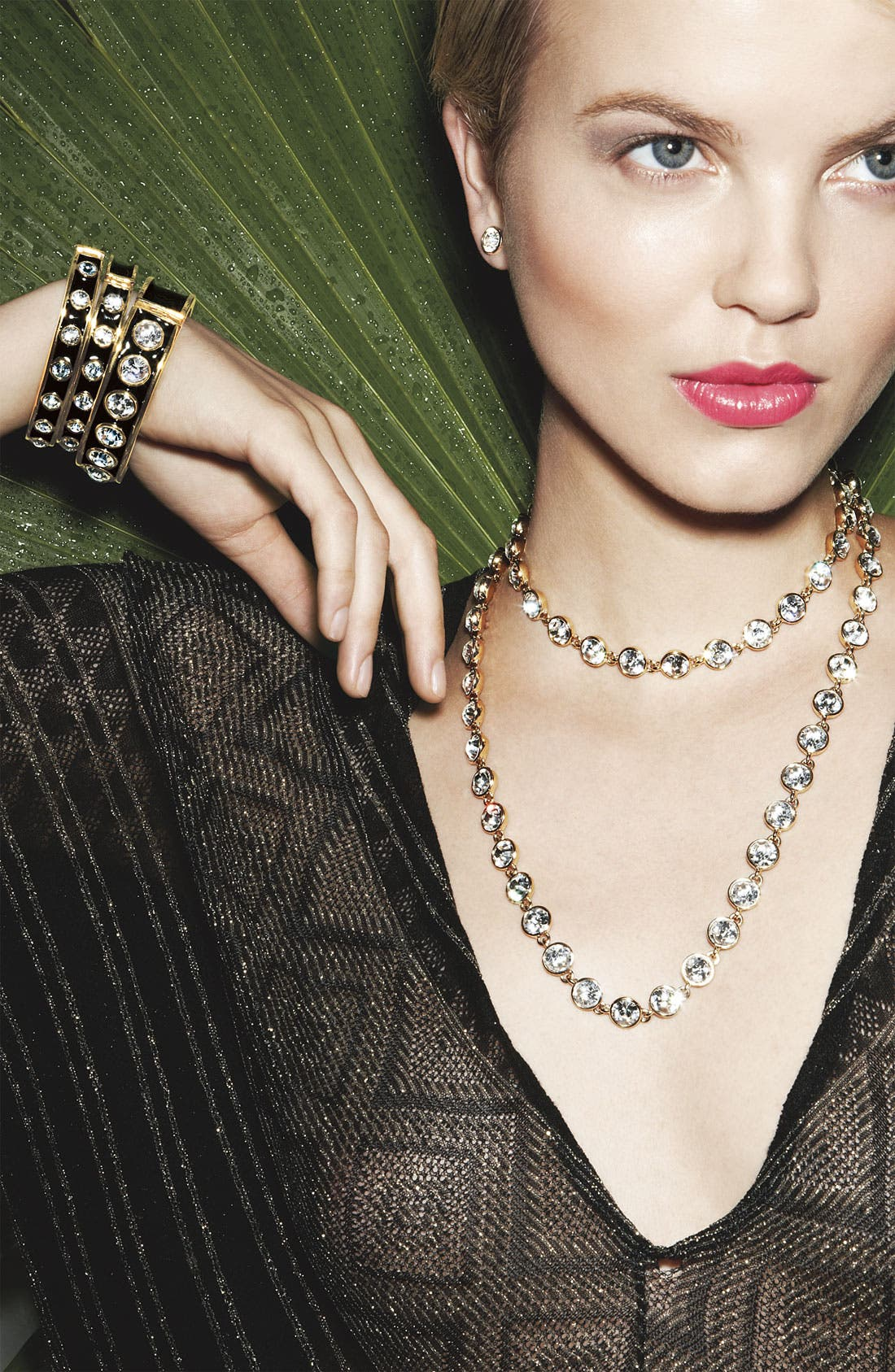 Alternate Image 2  - Givenchy Crystal Station Long Necklace (Nordstrom Exclusive)