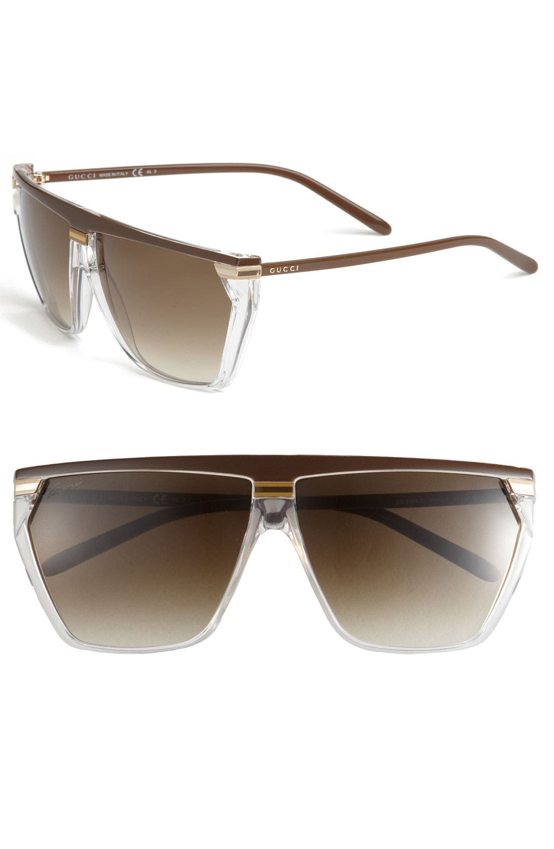 Alternate Image 1 Selected - Gucci Retro Sunglasses