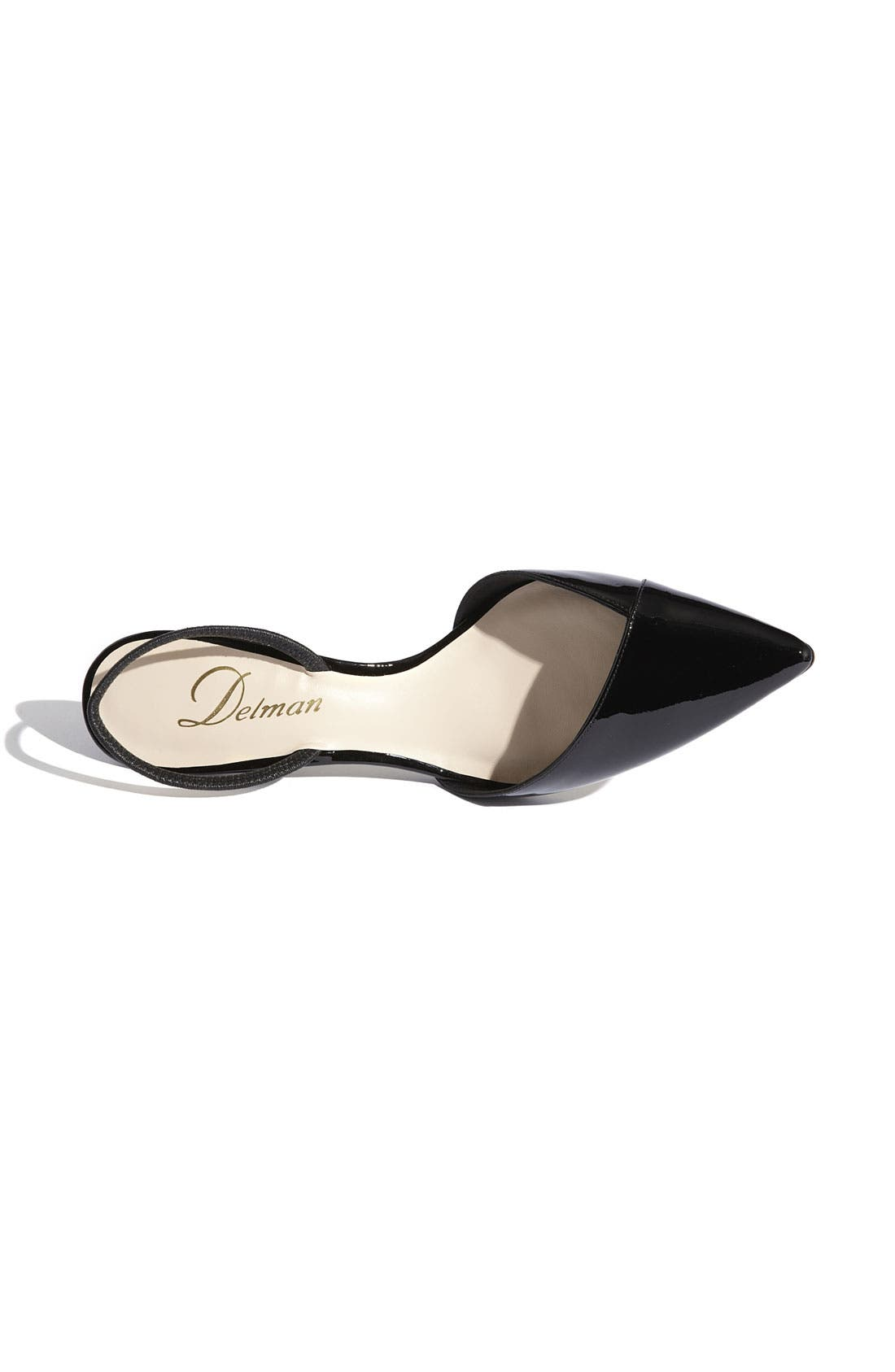Alternate Image 3  - Delman 'Laci' Pump (Online Only)