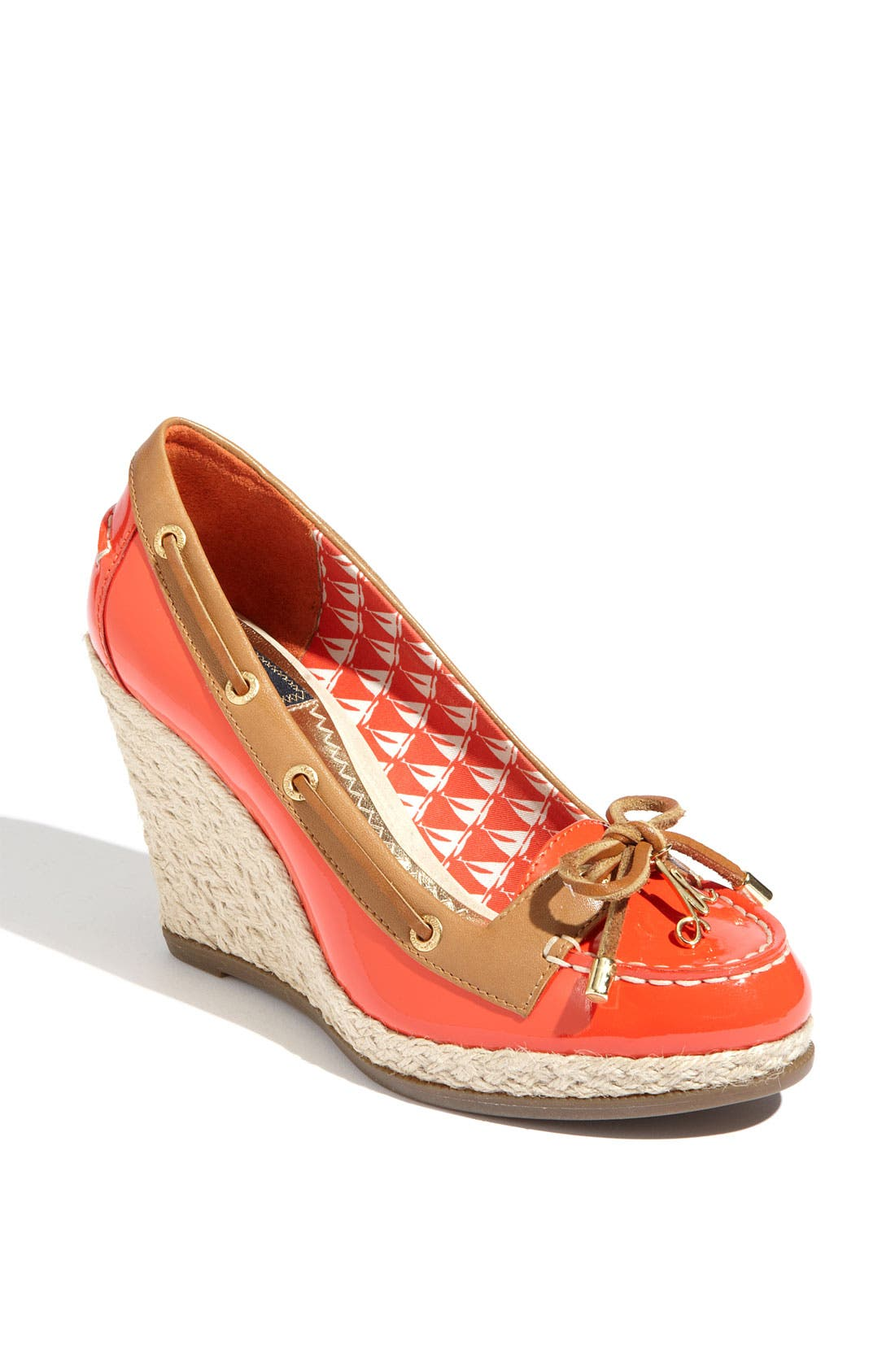 Alternate Image 1 Selected - Milly for Sperry Top-Sider® 'Cunard' Wedge Loafer