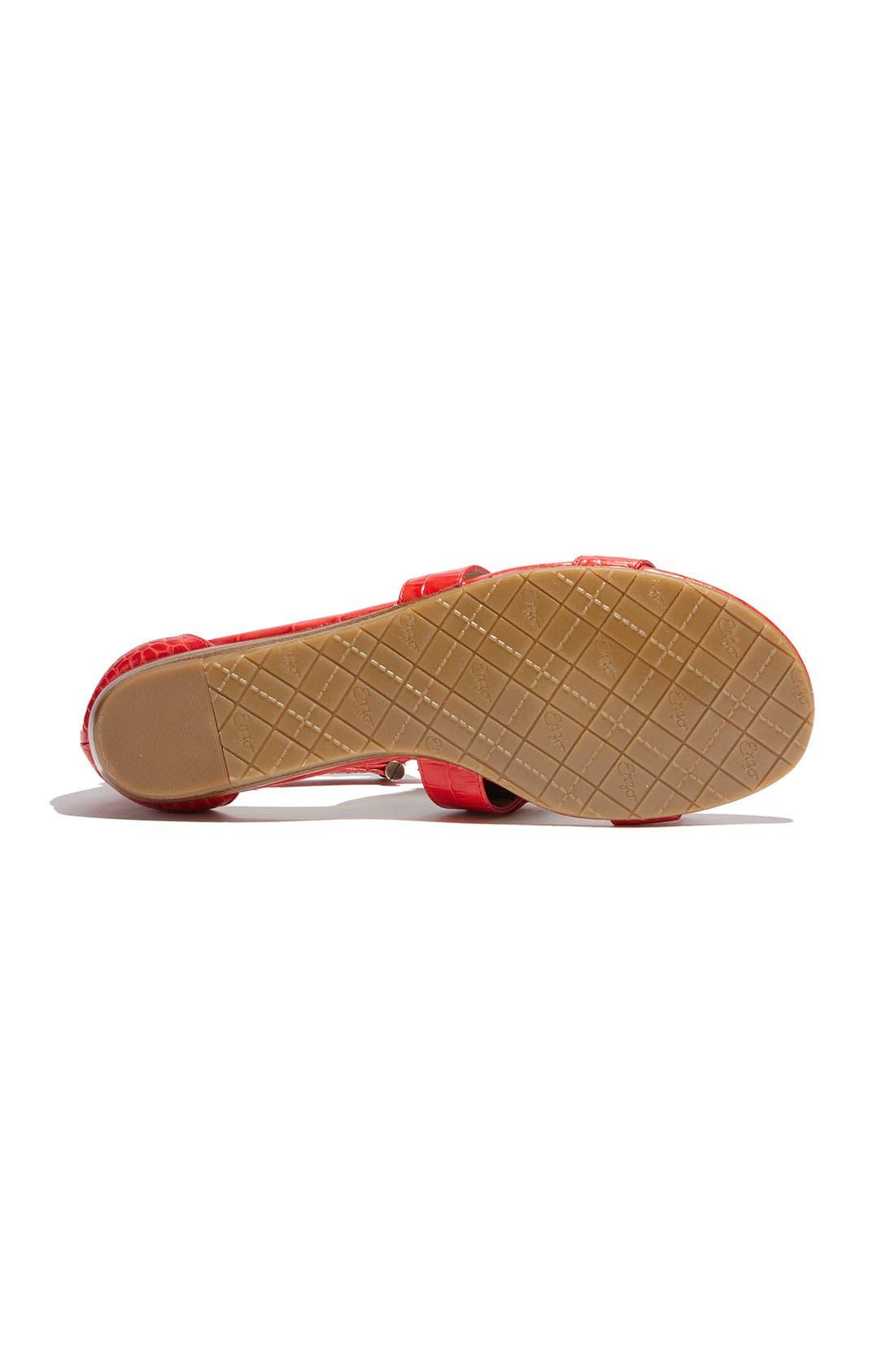 Alternate Image 4  - Enzo Angiolini 'Yoshi' Flat Sandal
