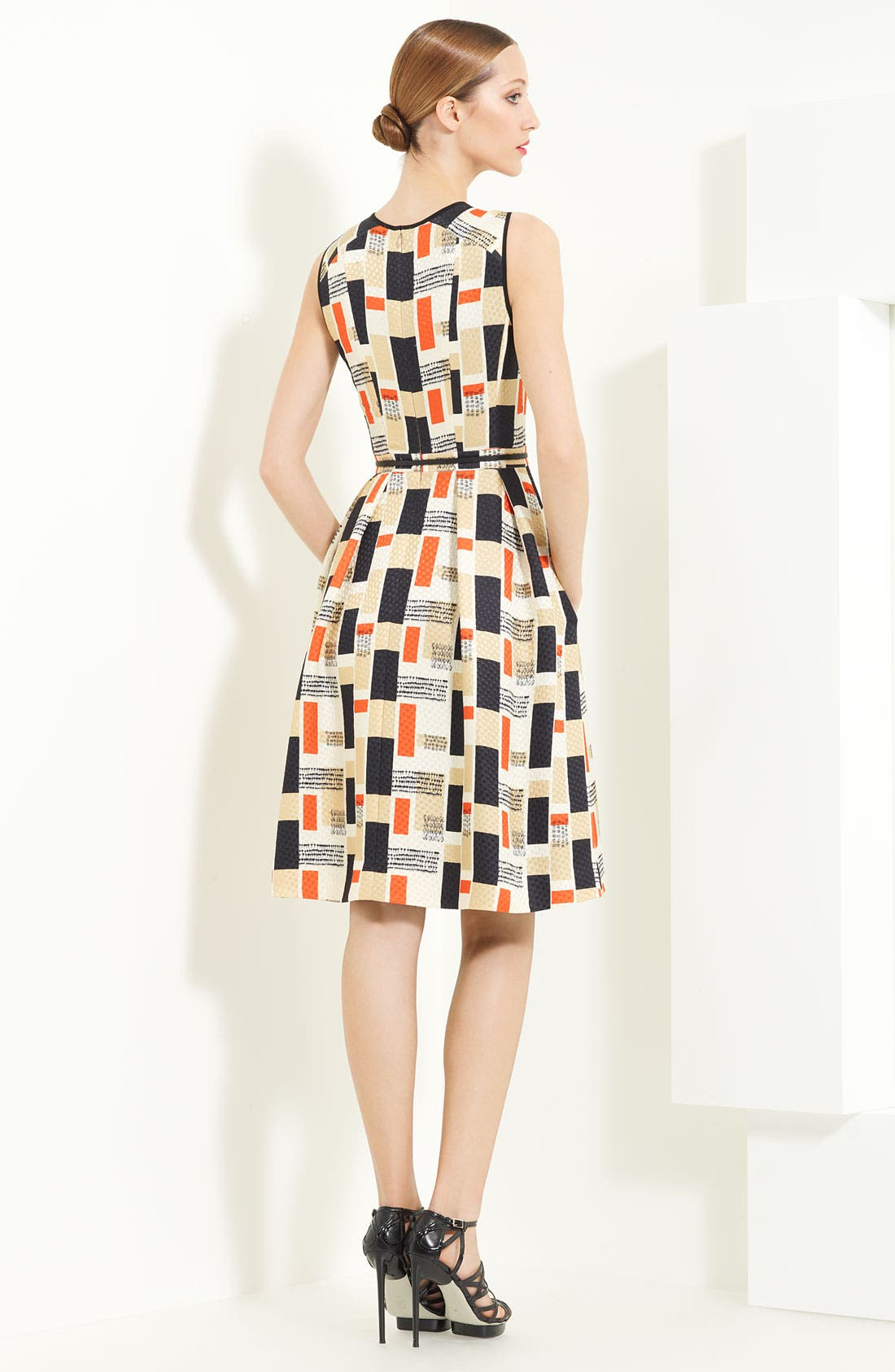 Alternate Image 2  - Jason Wu Silk & Wool Jacquard Dress