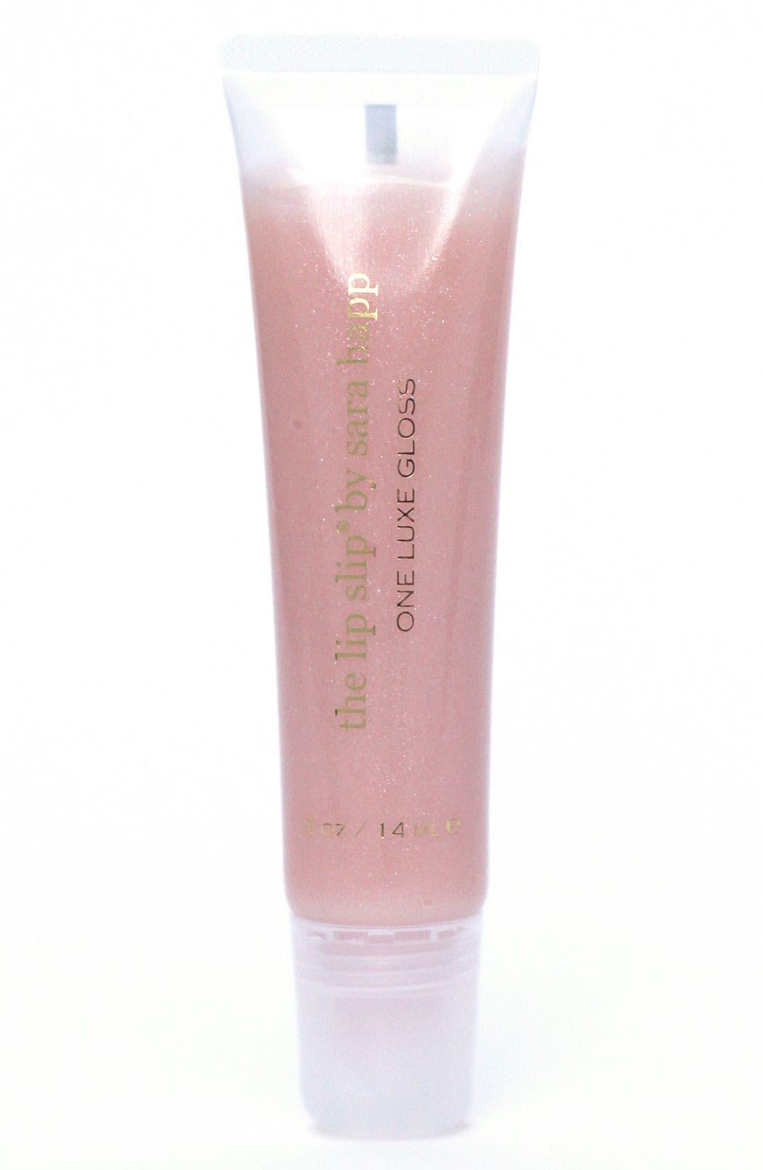 sara happ® The Lip Slip® One Luxe Clear Shine Lip Gloss