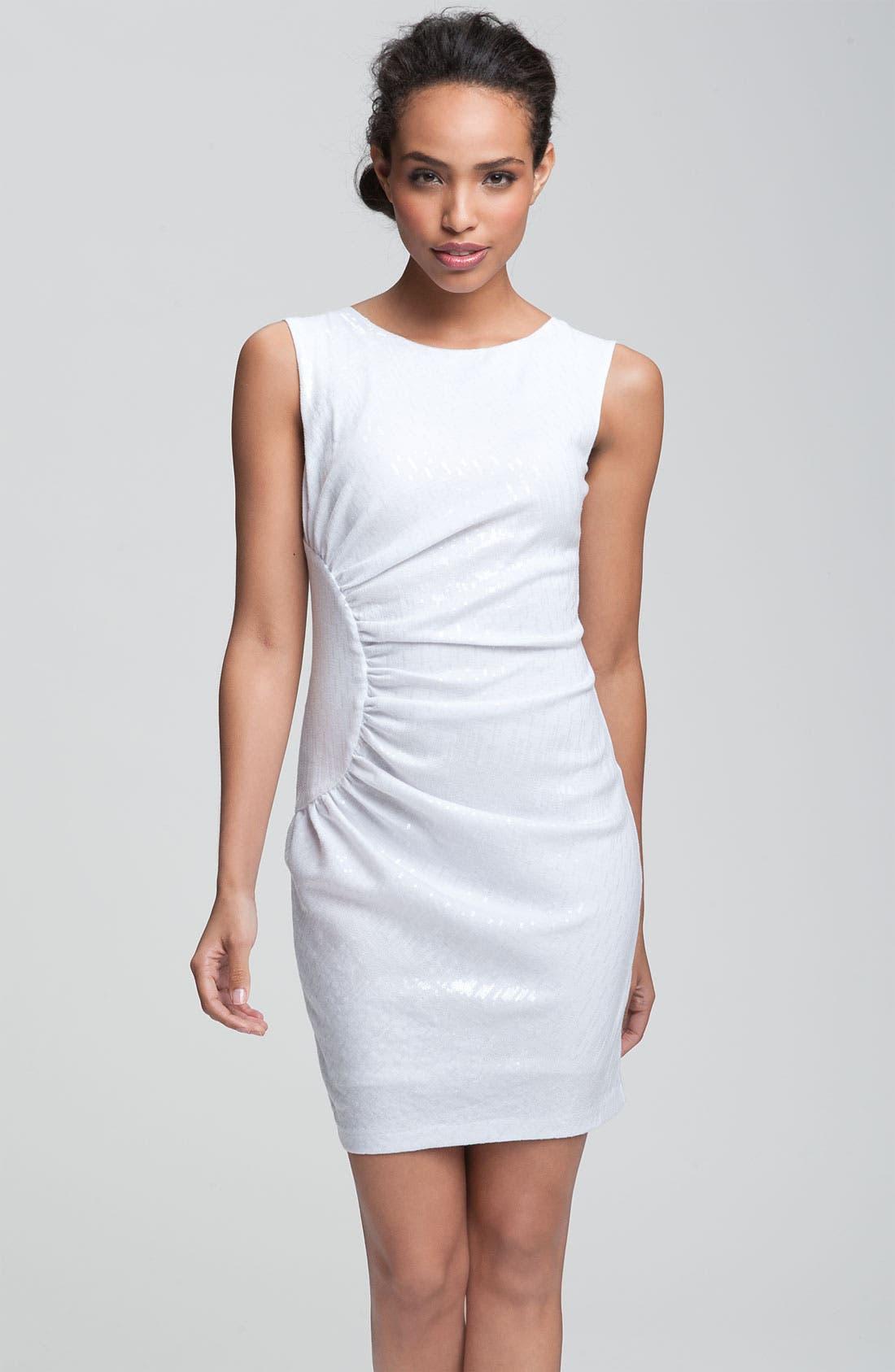 Main Image - Alexia Admor Sequined Jersey Knit Sheath Dress