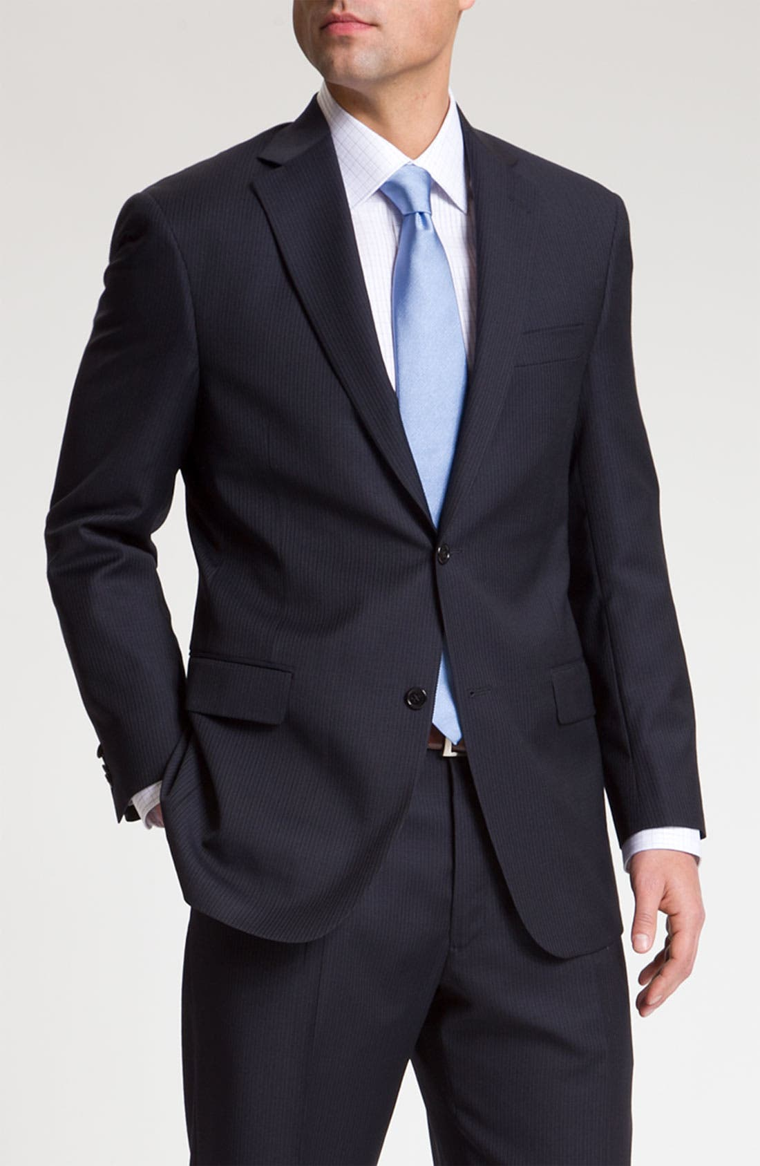 Main Image - Hart Schaffner Marx Pinstripe Wool Suit