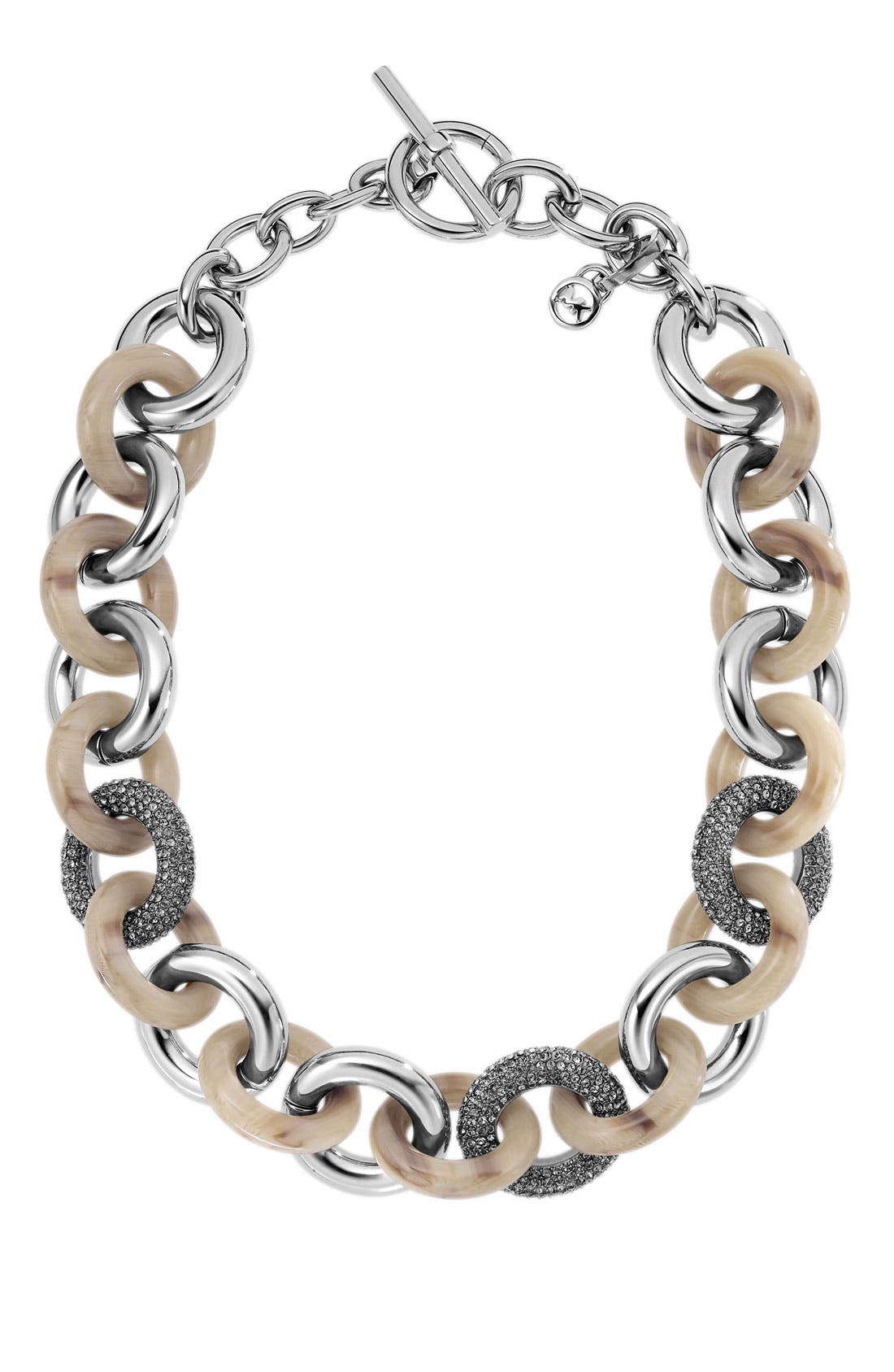 Alternate Image 1 Selected - Michael Kors 'Safari Glam' Open Link Necklace