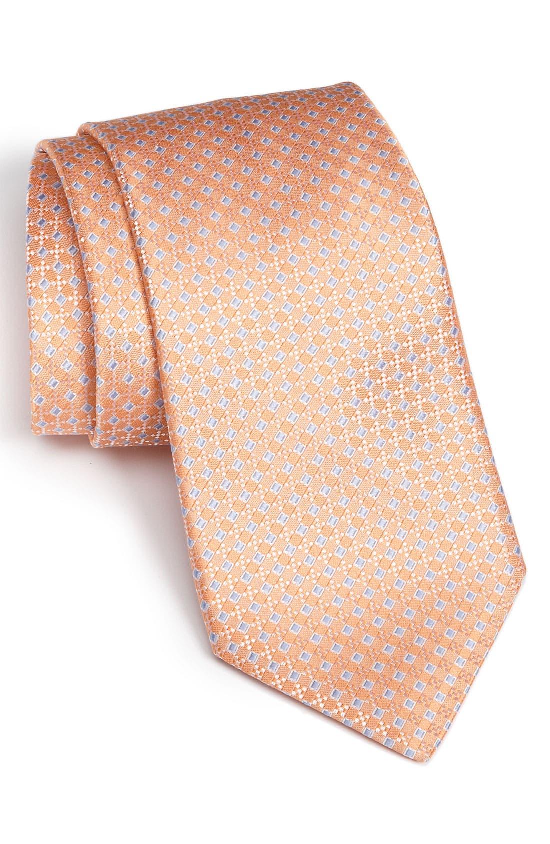 Alternate Image 1 Selected - Nordstrom Men's Shop Woven Silk Tie
