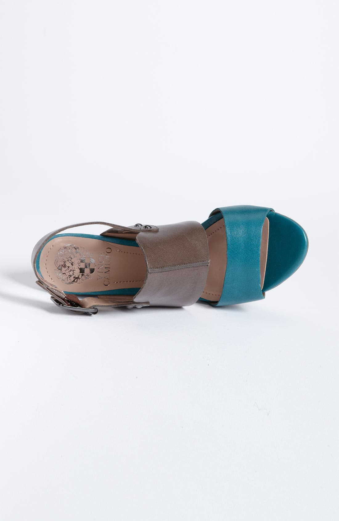 'Persh' Sandal,                             Alternate thumbnail 3, color,                             Peacock/ Granite/ Wild Berry
