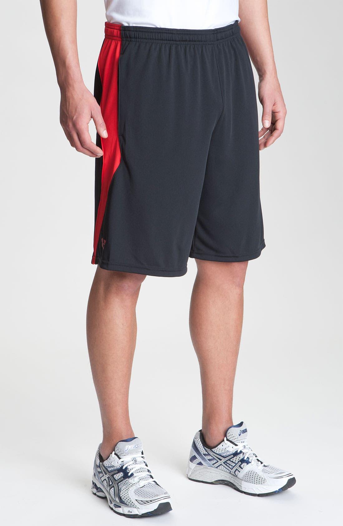 Alternate Image 1 Selected - Under Armour HeatGear® T-Shirt & Shorts