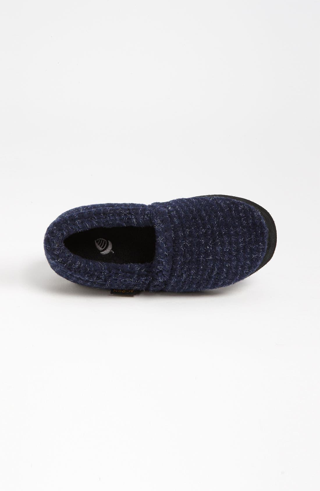Alternate Image 3  - Acorn 'Textured Moc' Slipper (Toddler, Little Kid & Big Kid)