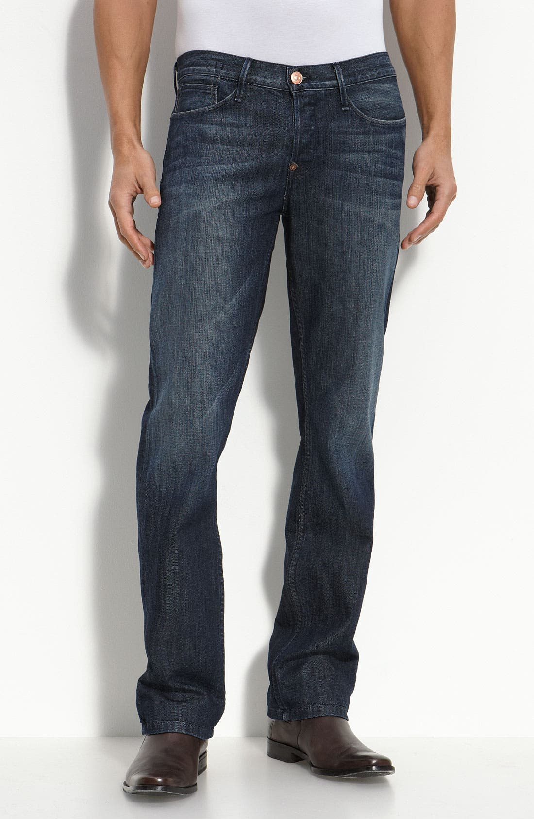 Alternate Image 1 Selected - Earnest Sewn 'Fulton' Straight Leg Jeans (Parker)