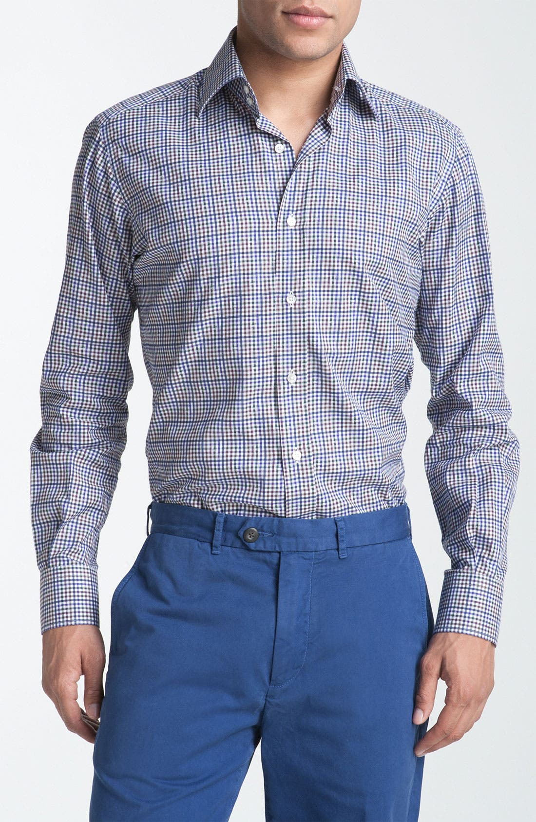 Main Image - Etro Plaid Woven Dress Shirt