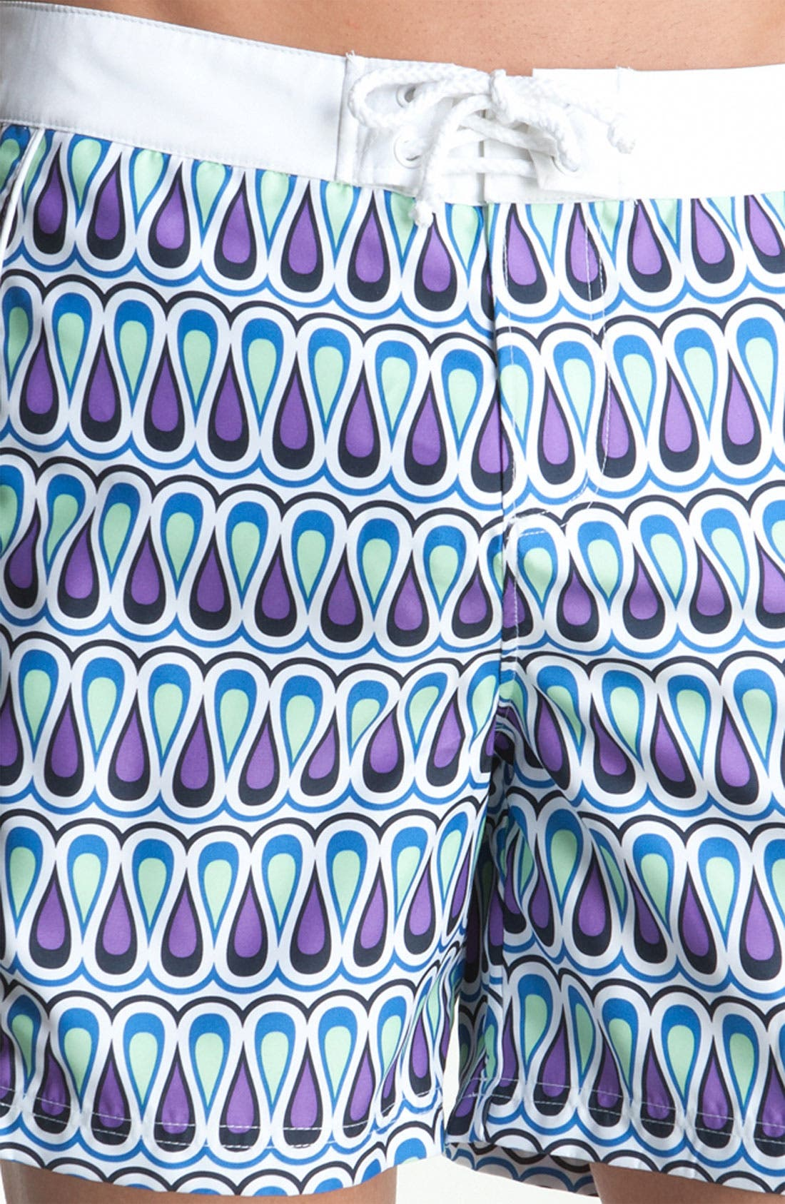 Alternate Image 2  - Original Penguin Print Volley Swim Shorts