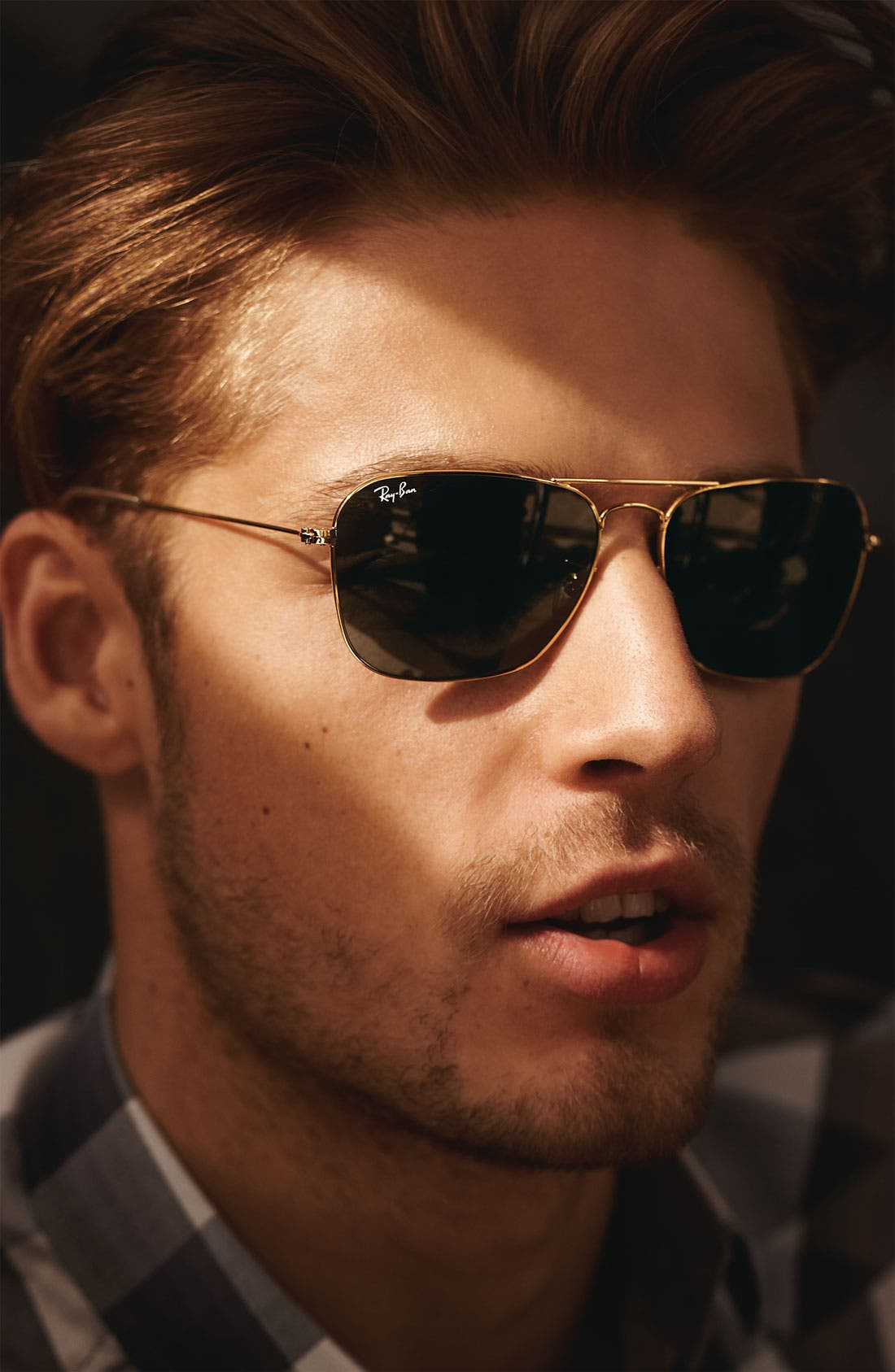 Alternate Image 2  - Ray-Ban Caravan 58mm Aviator Sunglasses