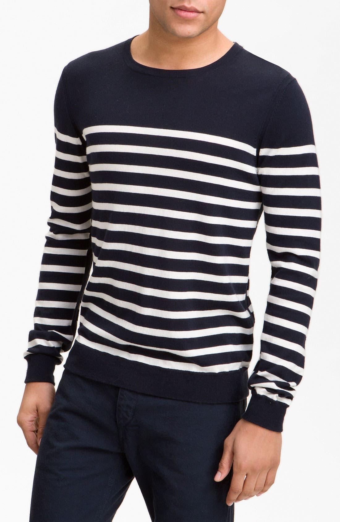 Main Image - rag & bone 'Basque' Crewneck Sweater
