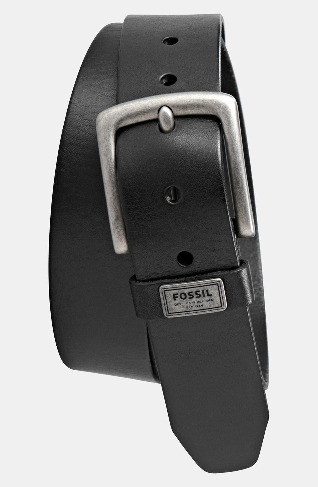 Main Image - Fossil 'Estate' Belt