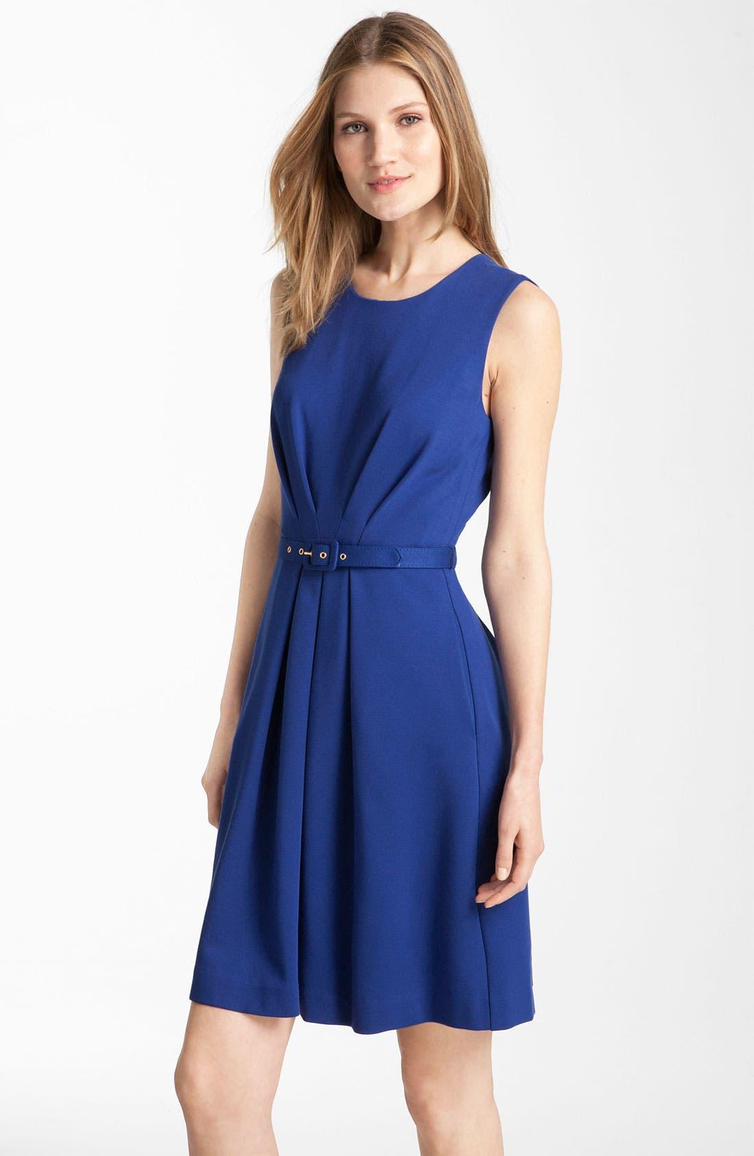 Main Image - Trina Turk 'Princess' Ponte Knit Dress (Online Exclusive)