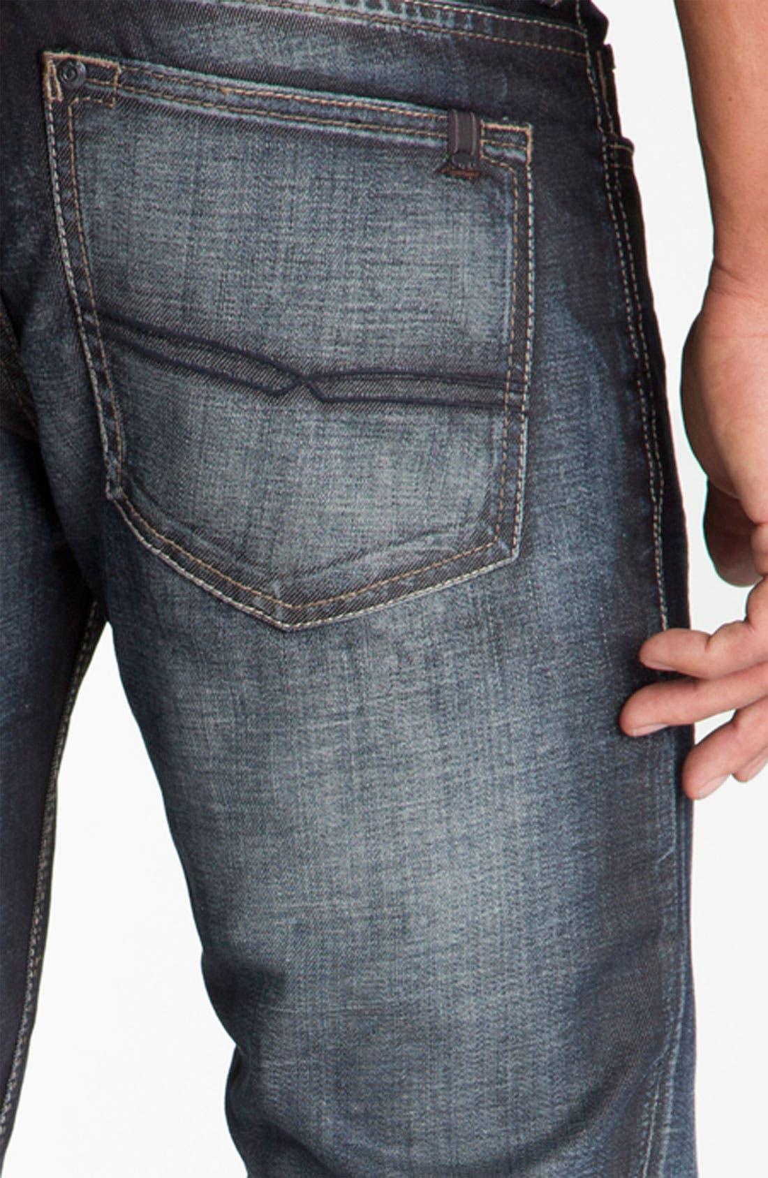 Alternate Image 4  - Buffalo Jeans 'Six' Slim Straight Leg Jeans (Vintage Stone)