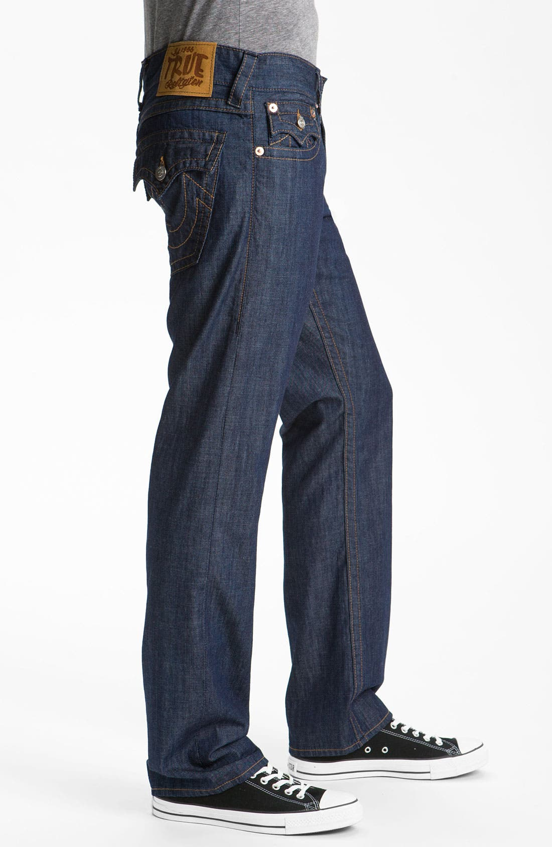 Alternate Image 3  - True Religion Brand Jeans 'Ricky' Straight Leg Jeans (2S Bodyrinse)