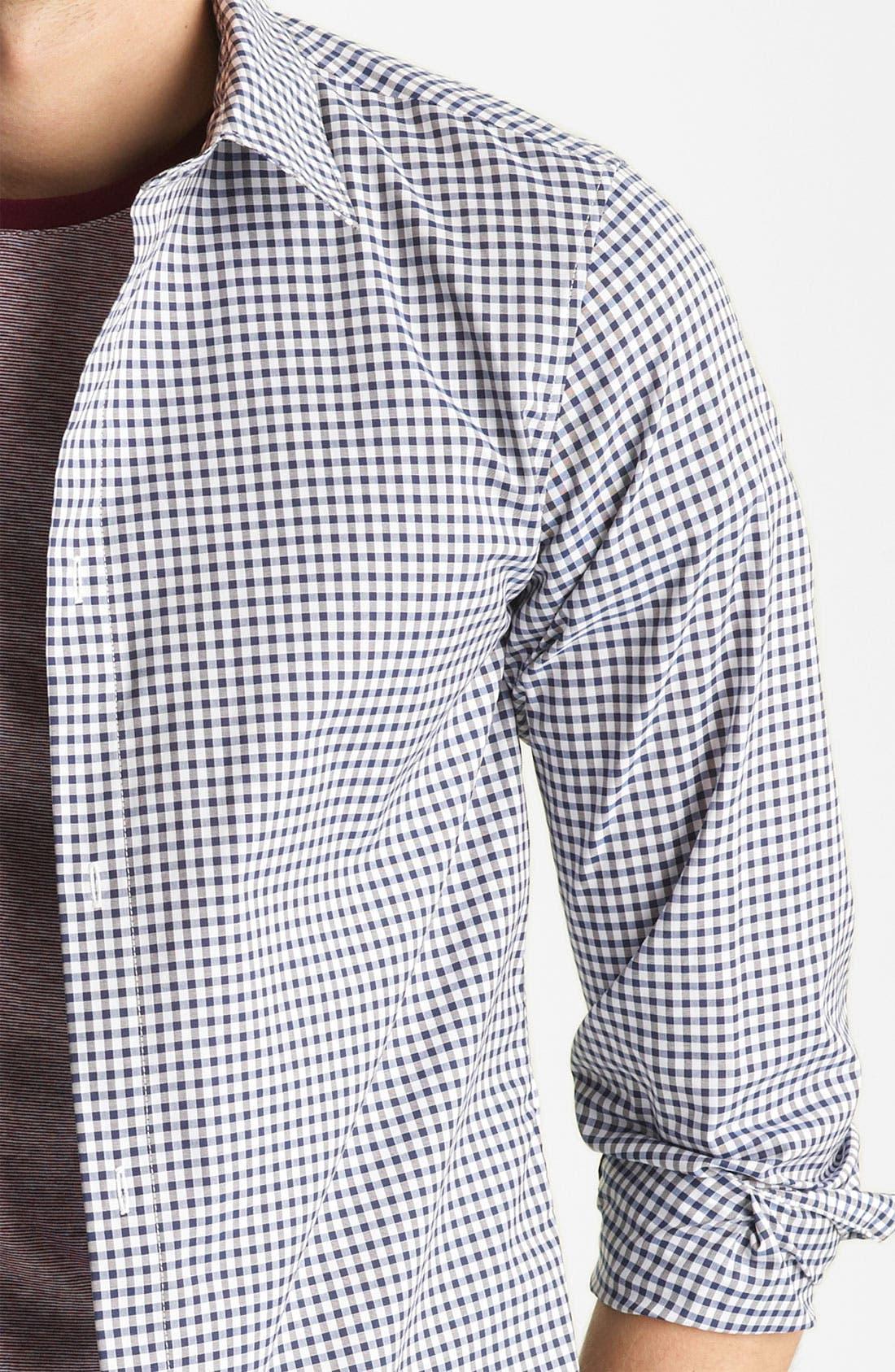 Alternate Image 3  - A.P.C. Gingham Shirt