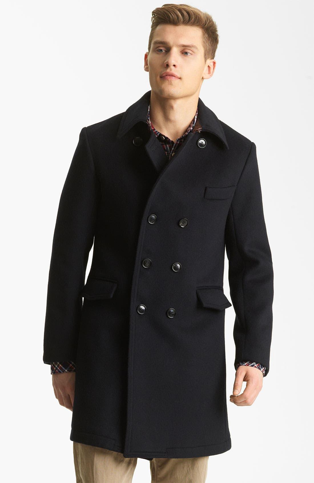 'Bowery' Coat,                         Main,                         color, Navy