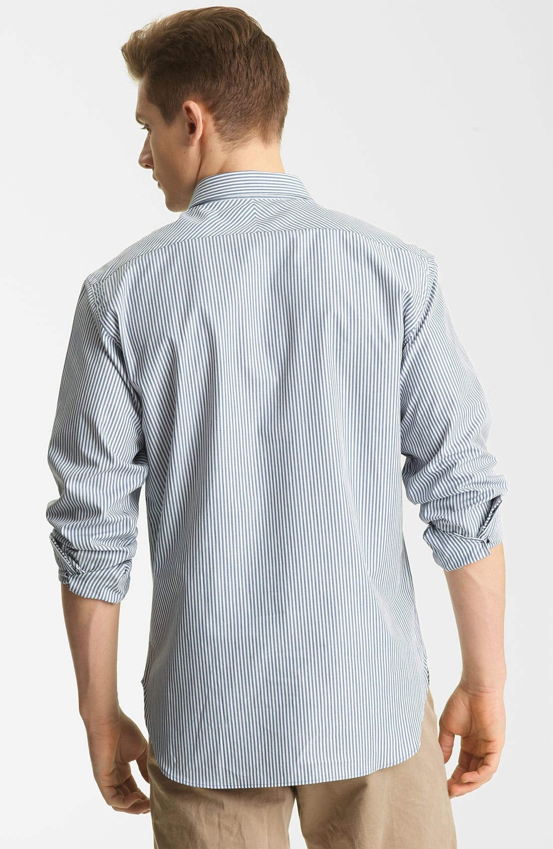 Alternate Image 2  - Billy Reid 'John T' Stripe Woven Shirt