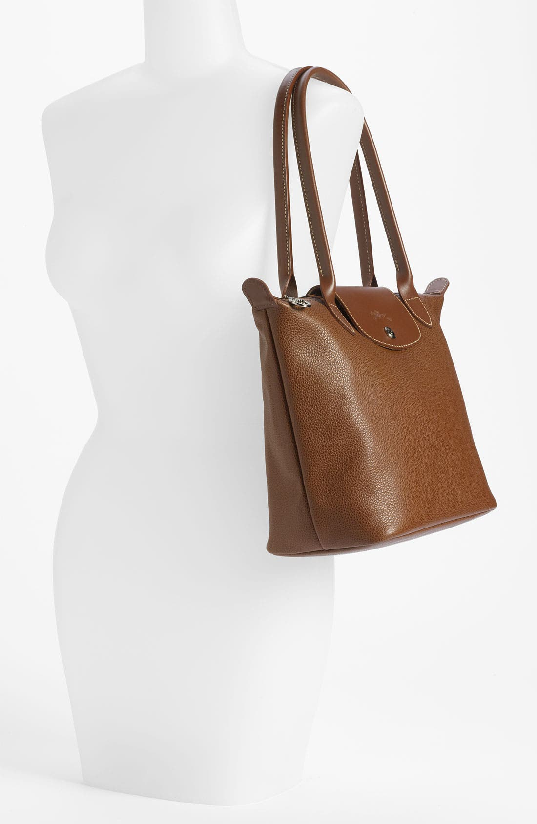 Alternate Image 2  - Longchamp 'Veau  Fouloneé' Shoulder Bag (Nordstrom Exclusive)