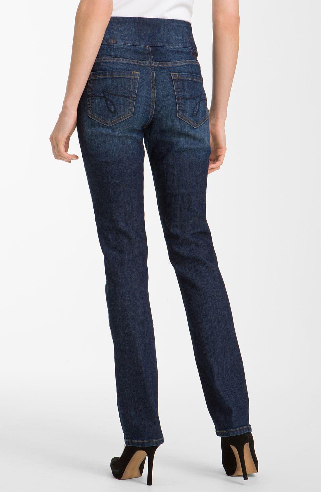 Alternate Image 2  - Jag Jeans 'Peri' Pull-On Jeans (Petite)