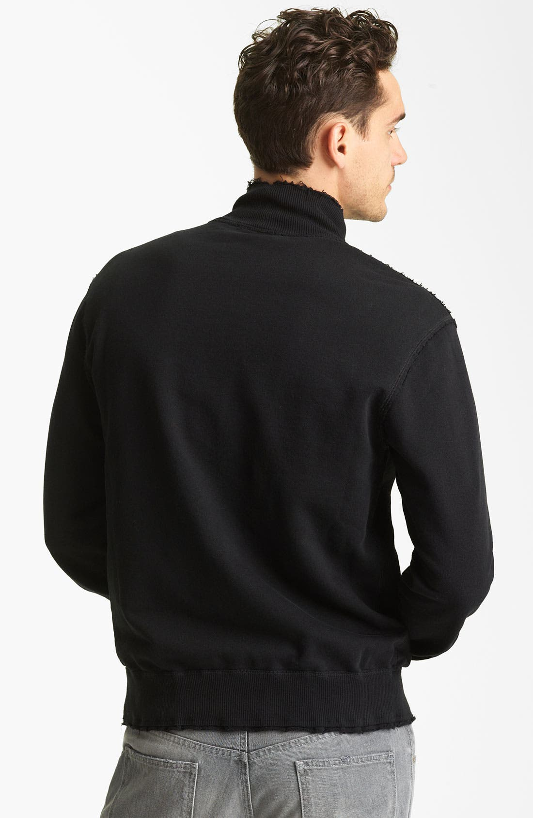 Alternate Image 2  - Dolce&Gabbana Mock Neck Jacket