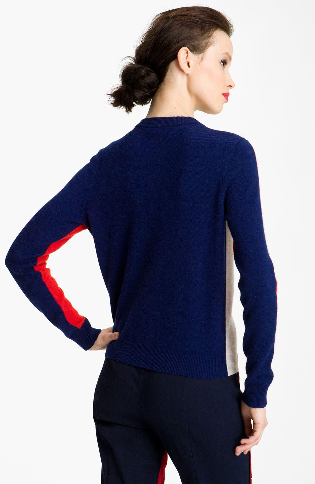 Alternate Image 2  - KENZO Colorblock Cashmere Cardigan