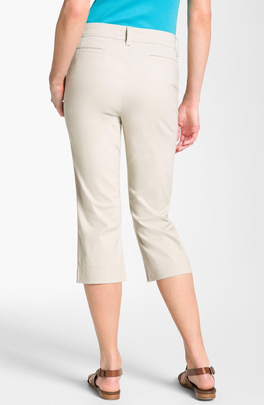 Alternate Image 2  - NYDJ 'Anita' Pintuck Crop Pants
