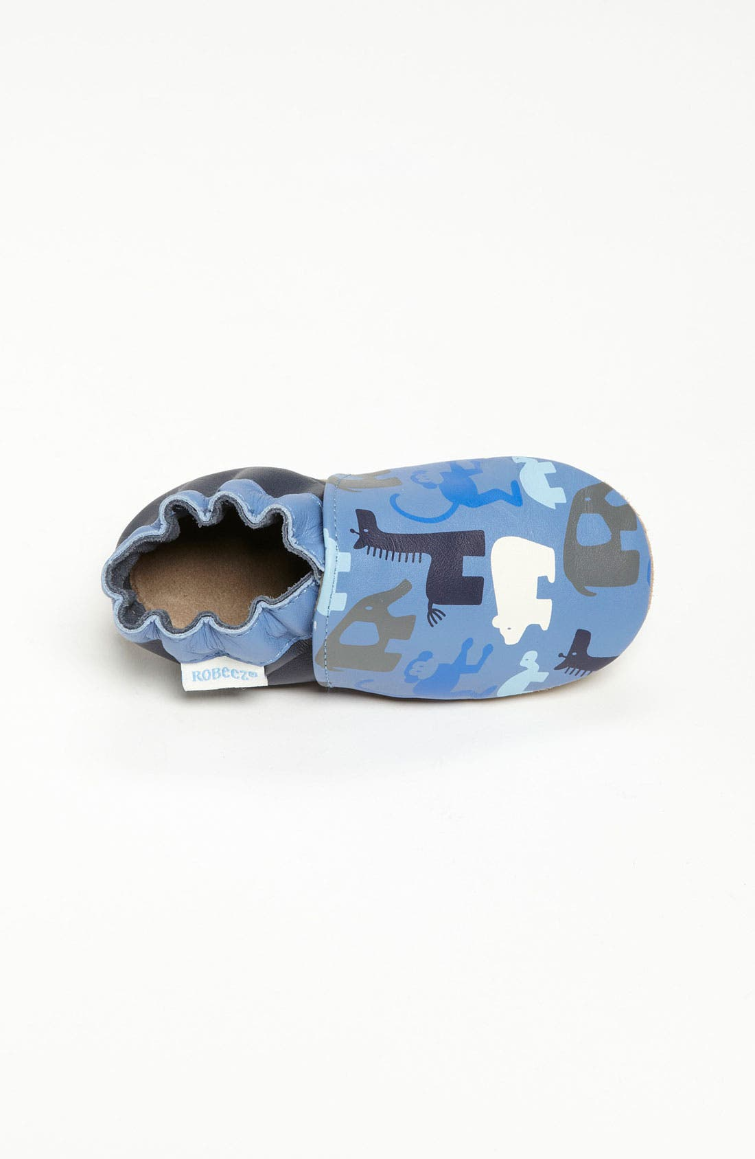 Alternate Image 3  - Robeez® 'Welcome to the Jungle' Slip-On (Baby & Walker)